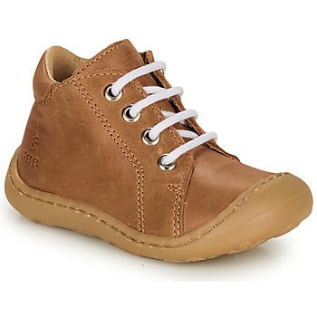 Skor Pojkar Höga sneakers GBB FREDDO Cognac