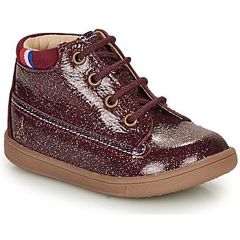 Skor Flickor Boots GBB FRANCETTE Bordeaux