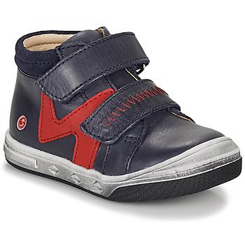 Skor Pojkar Höga sneakers GBB OGROU Blå / Röd