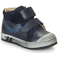 Skor Pojkar Höga sneakers GBB OMALLO Marin