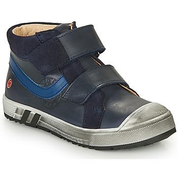 Skor Pojkar Höga sneakers GBB OMALLO Blå