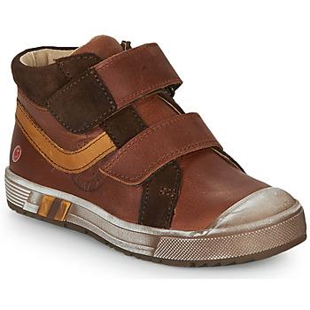Skor Pojkar Höga sneakers GBB OMALLO Brun