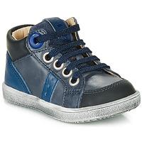 Skor Pojkar Höga sneakers GBB ANGELITO Blå