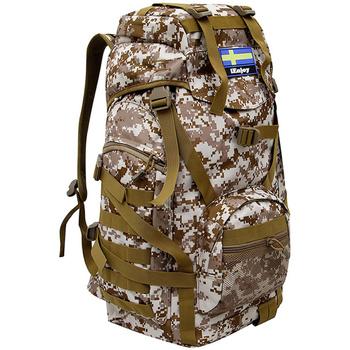 Väskor Ryggsäckar Ienjoy Ryggsäcken i kamouflage Brun
