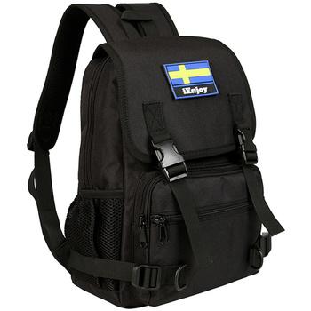 Väskor Herr Ryggsäckar Ienjoy Svart ryggsäcken i slitstark t Svart