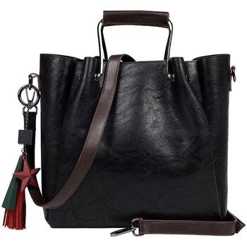 Väskor Herr Ryggsäckar Ienjoy Handväskan i svart, 32x25x14 c Svart