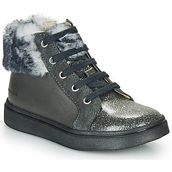 Skor Flickor Höga sneakers Catimini MARCELLE Grå