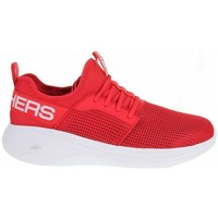 Skor Herr Sneakers Skechers GO Run Fast Valor Röda