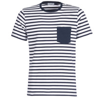 textil Herr T-shirts Casual Attitude KARALE Marin / Vit
