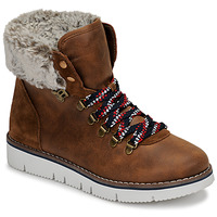 Skor Dam Boots Skechers BOBS ROCKY Brun