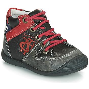 Skor Pojkar Boots Catimini COMATULE Svart / Röd