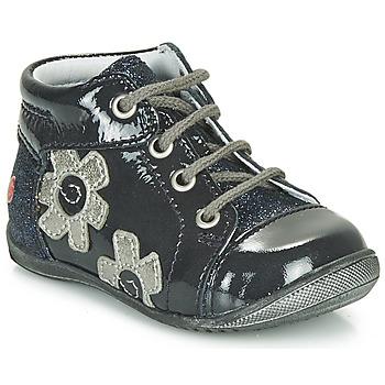Skor Flickor Höga sneakers GBB NEIGE Marin / Silver