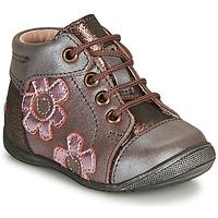 Skor Flickor Boots GBB NEIGE Violett / Rosa