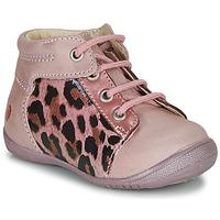 Skor Flickor Boots GBB NELLY Rosa / Svart