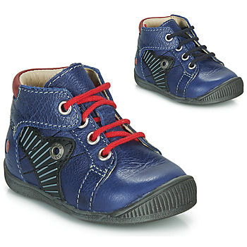 Skor Pojkar Boots GBB NATALE Blå / Röd