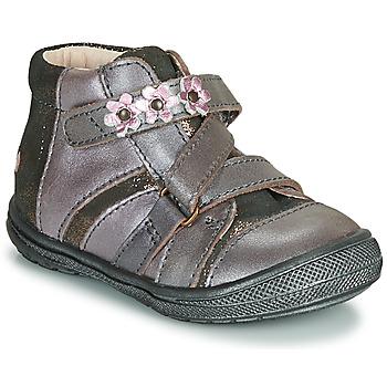 Skor Flickor Boots GBB NICOLETA Träfärgad / Rosa