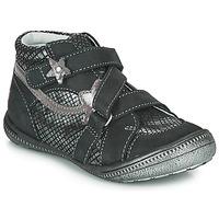 Skor Flickor Boots GBB NINA Svart / Silver