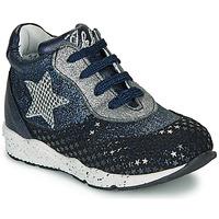 Skor Flickor Sneakers Ikks KAREN Blå / Silver