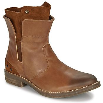 Skor Flickor Boots Ikks PAMELA Cognac