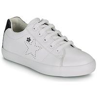 Skor Flickor Sneakers Ikks MOLLY Vit / Svart