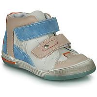Skor Pojkar Höga sneakers GBB PATRICK Grå / Blå