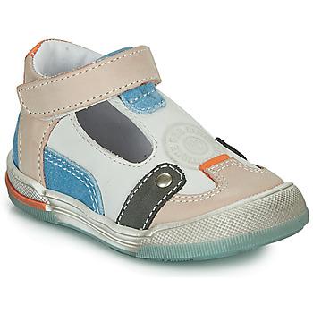 Skor Pojkar Sandaler GBB PERCEVAL Vit / Beige / Blå