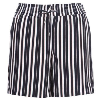 textil Dam Shorts / Bermudas Only ONLPIPER Marin / Vit