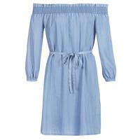 textil Dam Korta klänningar Only ONLSAMANTHA Blå / Ljus