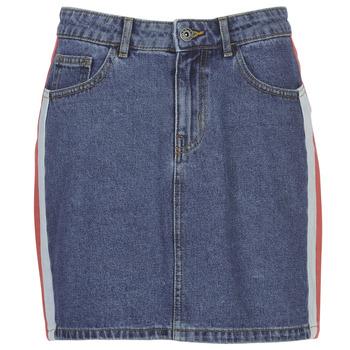 textil Dam kjolar Only ONLCHRISTY Blå