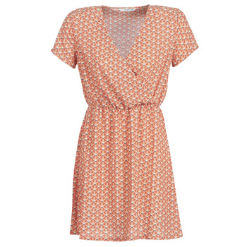 textil Dam Korta klänningar Only ONLTULIPE Orange