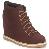 Skor Dam Boots No Name WISH DESERT BOOTS Bordeaux