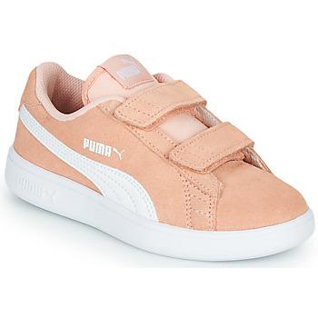 Skor Flickor Sneakers Puma SMASH PSV PEACH Korall