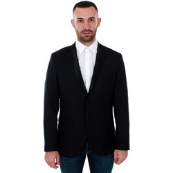 textil Herr Jackor & Kavajer Jack & Jones 12143492 JPRSOLARIS TUX BLAZER BLACK Negro