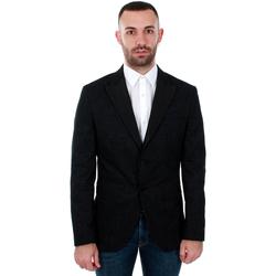 textil Herr Jackor & Kavajer Jack & Jones 12146072 JPRHUGO TUX BLAZER BLACK Negro