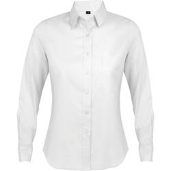 textil Dam Skjortor / Blusar Sols BUSINESS WOMEN Blanco