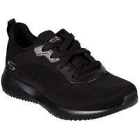 Skor Dam Sneakers Skechers Bobs Squad Tough Svarta