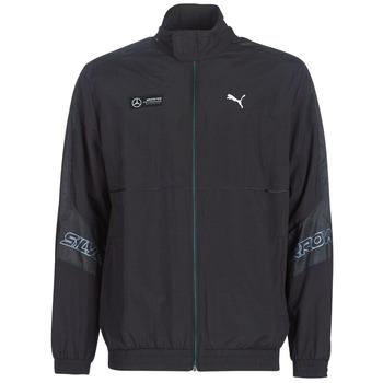 textil Herr Sweatjackets Puma MAPM STREET WOVEN JACKET MERCEDES Svart