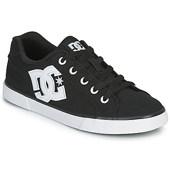 Skor Dam Skateskor DC Shoes CHELSEA TX Svart / Vit