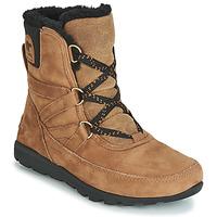 Skor Dam Boots Sorel WHITNEY SHORT LACE PREMIUM Kamel