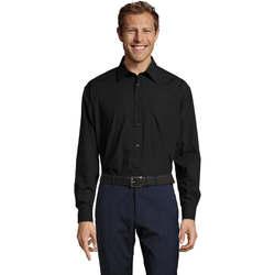textil Herr Långärmade skjortor Sols BALTIMORE FASHION WORK Negro