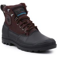 Skor Herr Boots Palladium Manufacture Sport Cuff WP 2.0 75567-222-M brown, black
