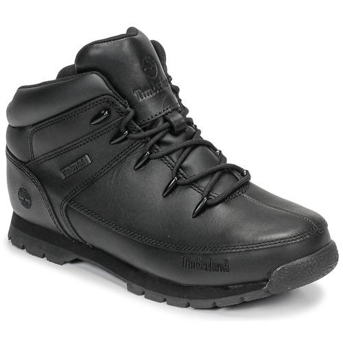 Skor Barn Boots Timberland EURO SPRINT Svart