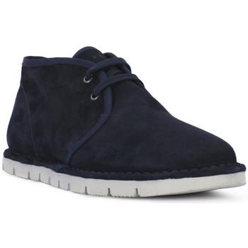 Skor Herr Boots Frau SUEDE BLU Blu