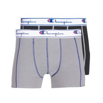 Underkläder  Herr Boxershorts Champion UNI X2 Svart / Grå
