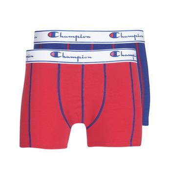 Underkläder  Herr Boxershorts Champion UNI X2 Röd / Blå