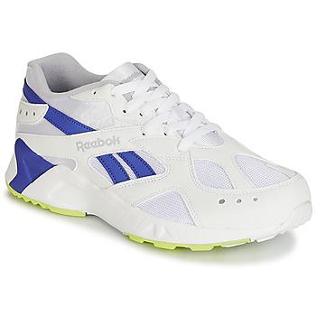 Skor Herr Sneakers Reebok Classic AZTREK Vit / Blå