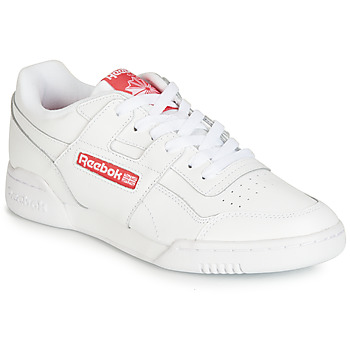 Skor Sneakers Reebok Classic WORKOUT PLUS MU Vit / Röd