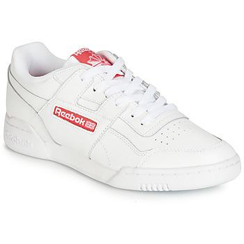 Skor Sneakers Reebok Classic WORKOUT PLUS MU Vit / Röd