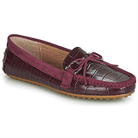 Skor Dam Loafers Lauren Ralph Lauren BRILEY Bordeaux