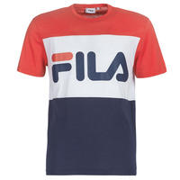 textil Herr T-shirts Fila DAY TEE Marin / Röd / Vit